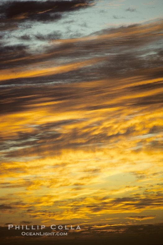 Clouds on Fire, Abstract Photo