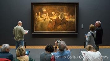 'The Conspiracy of the Batavians under Claudius Civilis' (1661-62), Rembrandt van Rijn, Rijksmuseum, Amsterdam, Holland, Netherlands