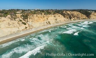 Aerial Photo of Blacks Beach and La Jolla Farms