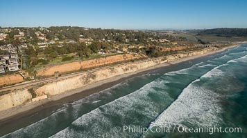 Aerial Photo of Del Mar Coastline