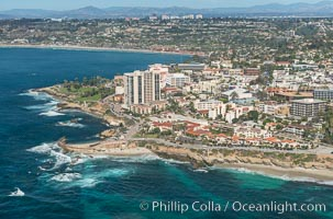 Aerial Photo of La Jolla Coastline