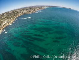 Aerial Photo of South La Jolla State Marine Reserve. La Jolla, California, USA, natural history stock photograph, photo id 30638