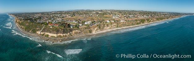 Aerial Photo of Swami's and Encinitas Coast