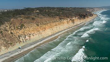 Aerial Photo of Torrey Pines State Reserve, San Diego, California