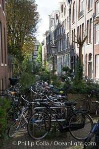 Amsterdam city scene. Amsterdam, Holland, Netherlands, natural history stock photograph, photo id 29431
