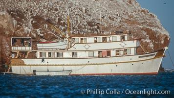 Boat Don Jose, Los Islotes, Sea of Cortez, La Paz, Baja California, Mexico