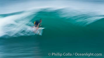 Breaking wave fast motion and blur. The Wedge. The Wedge, Newport Beach, California, USA, natural history stock photograph, photo id 27083