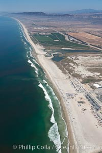 Camp Pendleton, Pacific coastline, north of San Diego county and the city of Oceanside.  Marine Corps Base Camp Pendleton. Marine Corps Base Camp Pendleton, California, USA, natural history stock photograph, photo id 25980