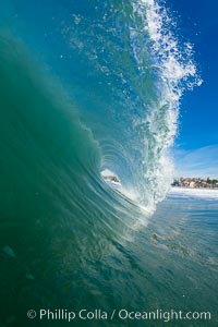 Cardiff, morning surf, Cardiff by the Sea, California