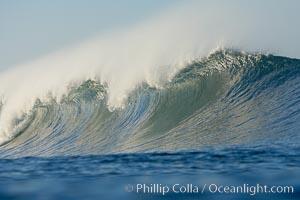 Ponto, South Carlsbad, morning surf. Ponto, Carlsbad, California, USA, natural history stock photograph, photo id 17720
