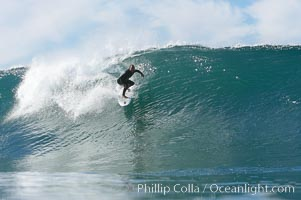 Tony Gatti, Ponto, South Carlsbad, morning surf. Ponto, Carlsbad, California, USA, natural history stock photograph, photo id 17777