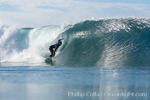 Ponto, South Carlsbad, morning surf. Ponto, Carlsbad, California, USA, natural history stock photograph, photo id 17779