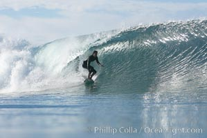 Ponto, South Carlsbad, morning surf. Ponto, Carlsbad, California, USA, natural history stock photograph, photo id 17784