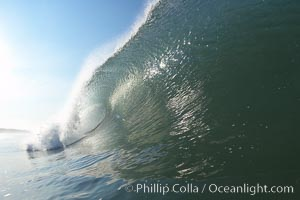 Ponto, South Carlsbad, morning surf. Ponto, Carlsbad, California, USA, natural history stock photograph, photo id 17856