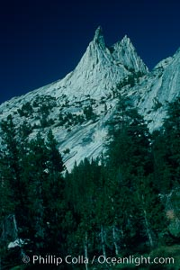 Cathedral Peak, Tuolumne Meadows, Yosemite National Park, California