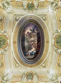 Ceiling detail Kensington Palace, London, United Kingdom