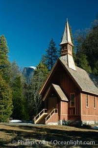 Chapel, Yosemite Valley, Yosemite National Park, California