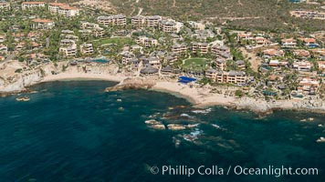 Esperanza Resort. Residential and resort development along the coast near Cabo San Lucas, Mexico
