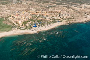 Fiesta American Grand Resort. Residential and resort development along the coast near Cabo San Lucas, Mexico
