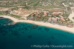 Hacienda del Mar and Vista Azul resorts. Residential and resort development along the coast near Cabo San Lucas, Mexico. Cabo San Lucas, Baja California, Mexico, natural history stock photograph, photo id 28928