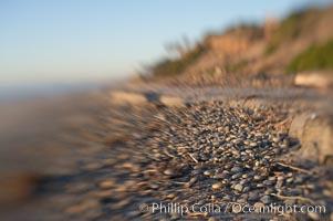 Cobblestones, South Carlsbad State Beach, Carlsbad, Ponto