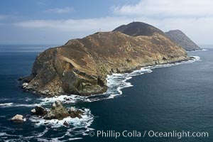 South Coronado Island, north end viewed from the north. Coronado Islands (Islas Coronado), Coronado Islands, Baja California, Mexico, natural history stock photograph, photo id 21324