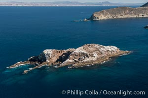Middle Grounds in Mexico's Coronado Islands, aerial photograph, Coronado Islands (Islas Coronado)