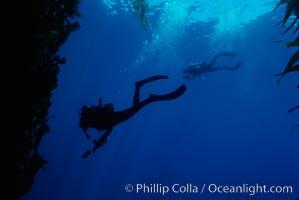 Divers, San Clemente Island
