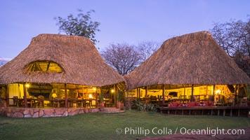 Elsa's Kopje, Luxury Safari Lodge, Meru National Park, Kenya