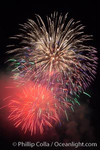 Fireworks, Aviara, Carlsbad, California