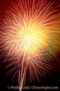Fireworks, Aviara, Carlsbad, California