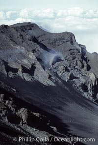Haleakala volcano crater, Maui