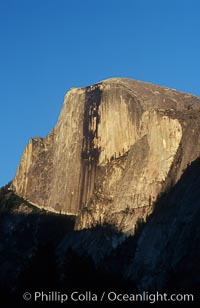Half Dome, late afternoon, Yosemite National Park, California