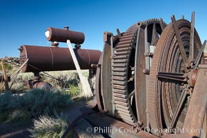 Head frame and machinery, Bodie State Historical Park, California