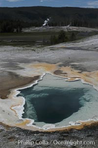 Heart Spring, Upper Geyser Basin, Yellowstone National Park, Wyoming