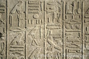 Heiroglyphics, Luxor, Egypt