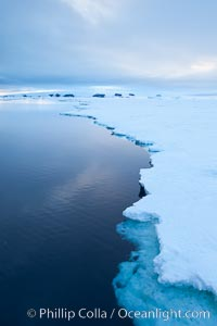 Icebergs and ice near Paulet Island. Paulet Island, Antarctic Peninsula, Antarctica, natural history stock photograph, photo id 26371