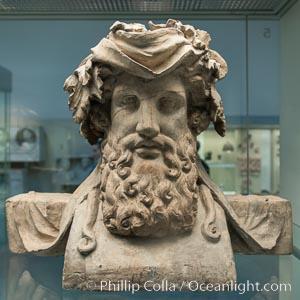 Inside the British Museum, London, United Kingdom