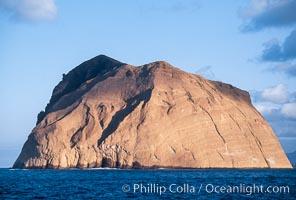 Isla Adentro, daybreak, Guadalupe Island (Isla Guadalupe)