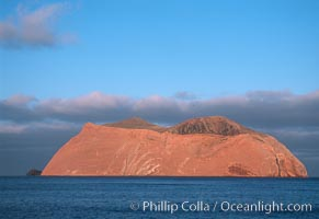 Isla Adentro, daybreak, Guadalupe Island (Isla Guadalupe)