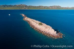 Isla Cayo, Aerial Photo, Sea of Cortez, Baja California
