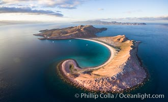 Isla San Francisquito, Aerial Photo, Sea of of Cortez