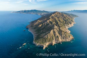Isla San Jose, Aerial Photo, Sea of Cortez