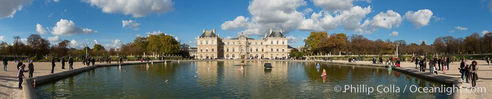 Jardin du Luxembourg.  The Jardin du Luxembourg, or the Luxembourg Gardens, is the second largest public park in Paris located in the 6th arrondissement of Paris, France. The park is the garden of the French Senate, which is itself housed in the Luxembourg Palace