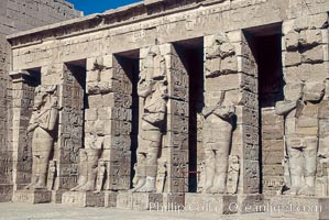 Karnak Temple. Luxor, Egypt, natural history stock photograph, photo id 02596