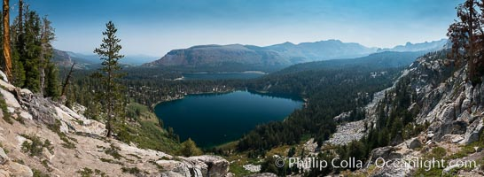 Panoramic Photo of Lake George, Mammoth Lakes, Inyo National Forest