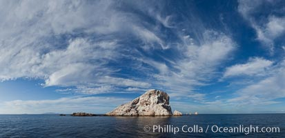Las Animas island, southern Sea of Cortez near La Paz, Baja California, Mexico. Sea of Cortez, Baja California, Mexico, natural history stock photograph, photo id 27375