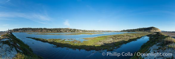Los Penasquitos Lagoon. San Diego, California, USA, natural history stock photograph, photo id 29173