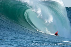Tyler Smith, final round, Mavericks surf contest (second place), February 7, 2006, Half Moon Bay, California