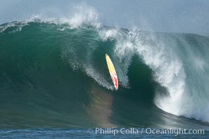 Mavericks surf contest, February 7, 2006, Half Moon Bay, California